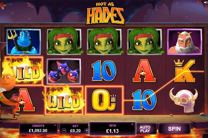 Hot as Hades Slot